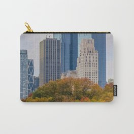 Fall in NYC (yellow, green, orange, brown, blue, grey) Carry-All Pouch