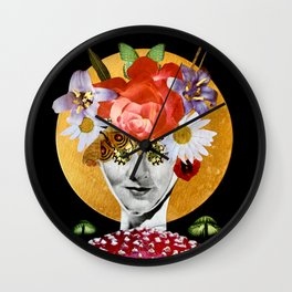 Mushroom Bloom  Wall Clock