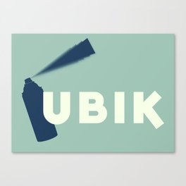 Ubik by Philip K Dick Canvas Print