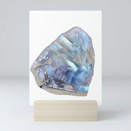 Moonstone Sodium Potassium Aluminium Silicate Feldspar Group Schiller Mini Art Print