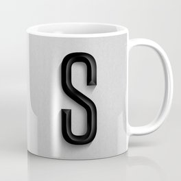 "The Letter ""S"" Monogram Coffee Mug"