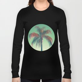 Red palm tree Long Sleeve T-shirt