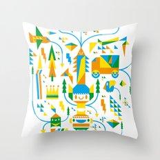 Shape-A-Licious Throw Pillow