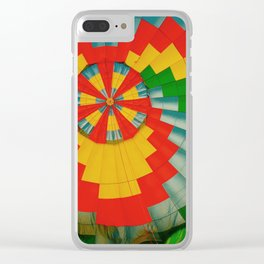 Hot Air Pattern Clear iPhone Case