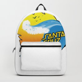 Surf Santa Cruz California Backpack