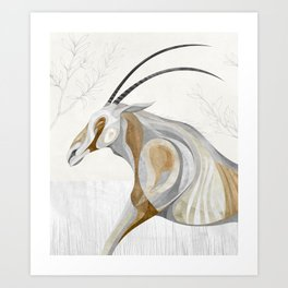 Scimitar Art Print