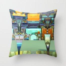Metroscape Throw Pillow