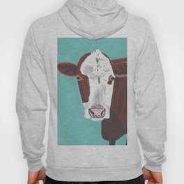 A Cow Named Adeline Hoody