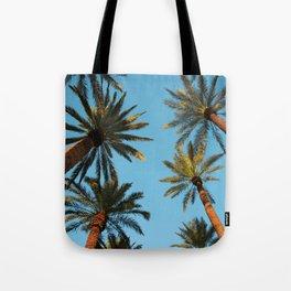 Palm trees, Vegas Tote Bag
