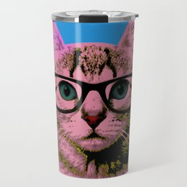 Warhol Cat 1 Travel Mug