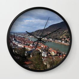 Heidelberg Wall Clock