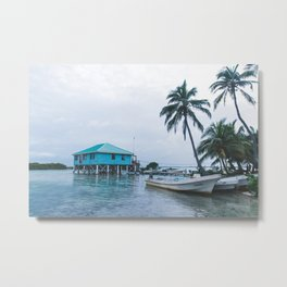 Island Retreat Metal Print