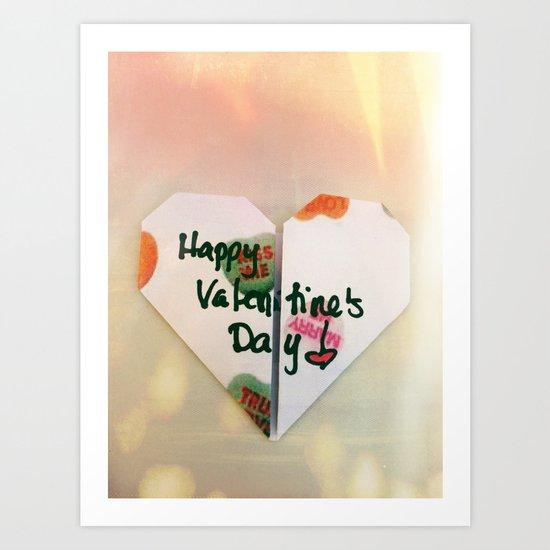 Valentine's Heart Art Print