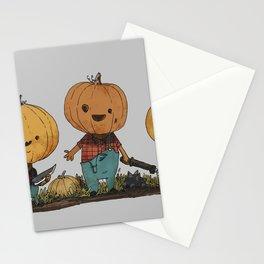 Pumpkin Pals Stationery Cards