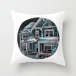Home, Bright Home Throw Pillow
