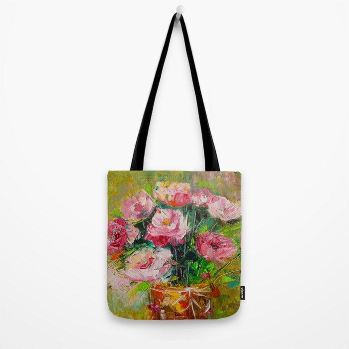 magic roses Tote Bag