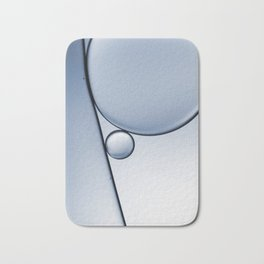 oil and water abstract I Bath Mat