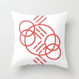 3-4-5-6_001_pink Throw Pillow