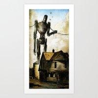 Pride and Joy Art Print