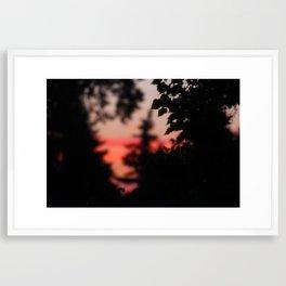 Late Night View (1/3) Framed Art Print