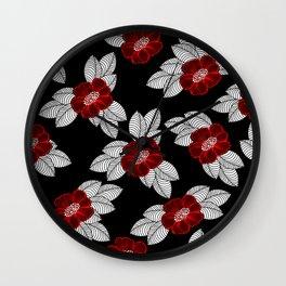 Flower 11 Wall Clock