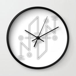 Sigil: Tzu Auna (Diffuse & Dispell negative energies) Wall Clock