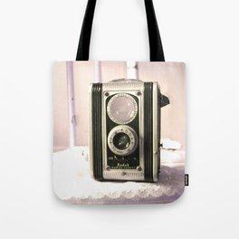 Sitting Pretty - Vintage Box Camera Tote Bag