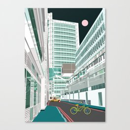 Warren Street Canvas Print