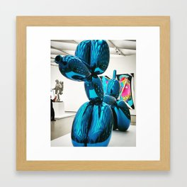 Balloon Dog at The Broad Framed Art Print