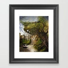 Memoirs of Italy Framed Art Print