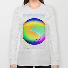 Iceberg A68 - Ultraviolet Long Sleeve T-shirt