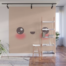 Kawaii Cafe au Lait Wall Mural