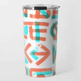 Abstract Graffiti Travel Mug