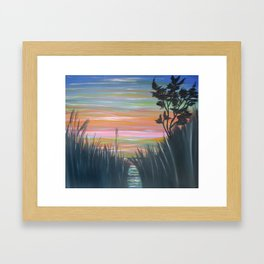 Año Nuevo Framed Art Print