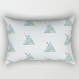 Triangles are nice Rectangular Pillow