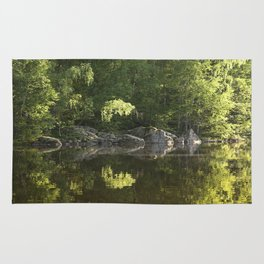 Forest Reflection Rug