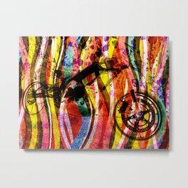 Motorbike Fibres  Dream Series 001 Metal Print