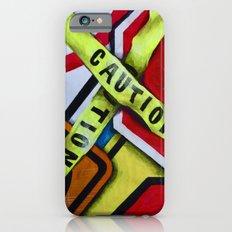 Caution iPhone 6s Slim Case