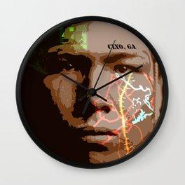 Native American Lost Land Wall Clock