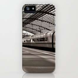 Train-Station of Berlin iPhone Case