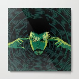 Mind-control powers in good use Metal Print