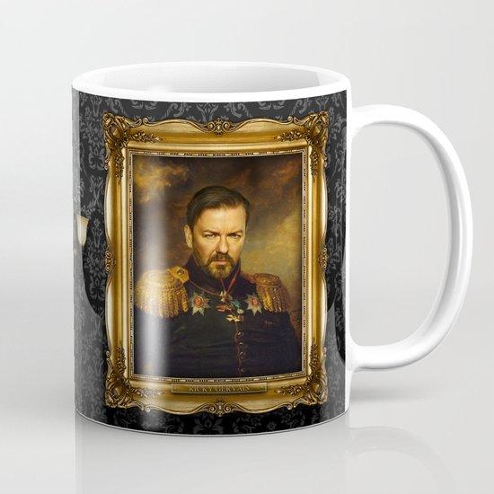 Ricky Gervais - replaceface Mug