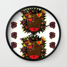 Radiant Hues ~ Double Wall Clock