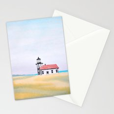 Point Cabrillo Lighthouse, CA Stationery Cards