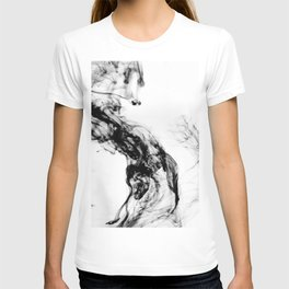 MONOCHROME MARBLE / INDIAN INK IN WATER T-shirt