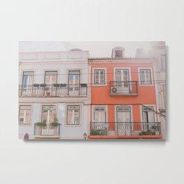 Travel to Lisbon Metal Print