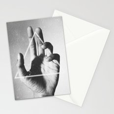hand + triangle Stationery Cards