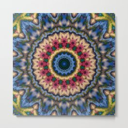 Multi-colored mandala 2018 -1 Metal Print