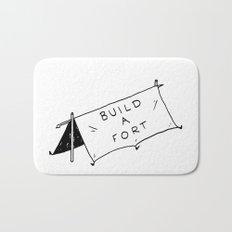 Build a fort Bath Mat