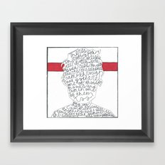 The Beers - The Front Bottoms Framed Art Print